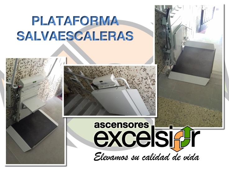PLATAFORMA SALVAESCALERAS PARLA