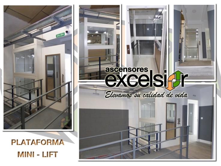 PLATAFORMA MINI-LIFT ascensores excelsior